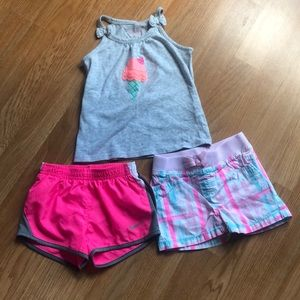 GUC 2t bundle of tank and shorts